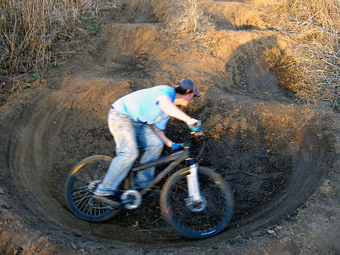 Pump Track from Above